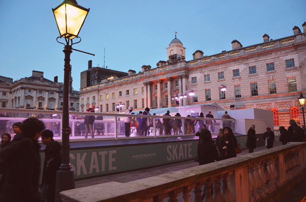 Ice Skating at Somerset House