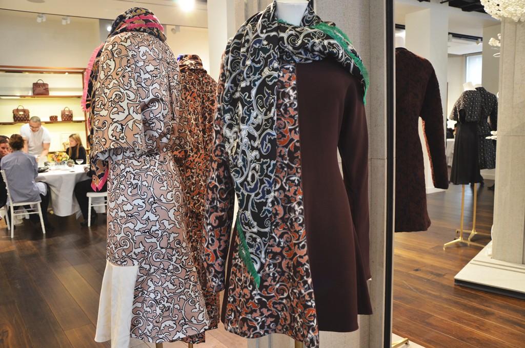 London fashion week Mulberry AW15
