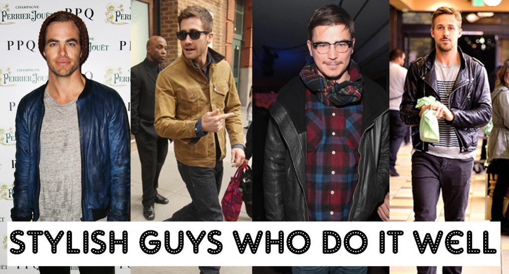 Stylish guys Ryan Gosling  Josh Hartnett