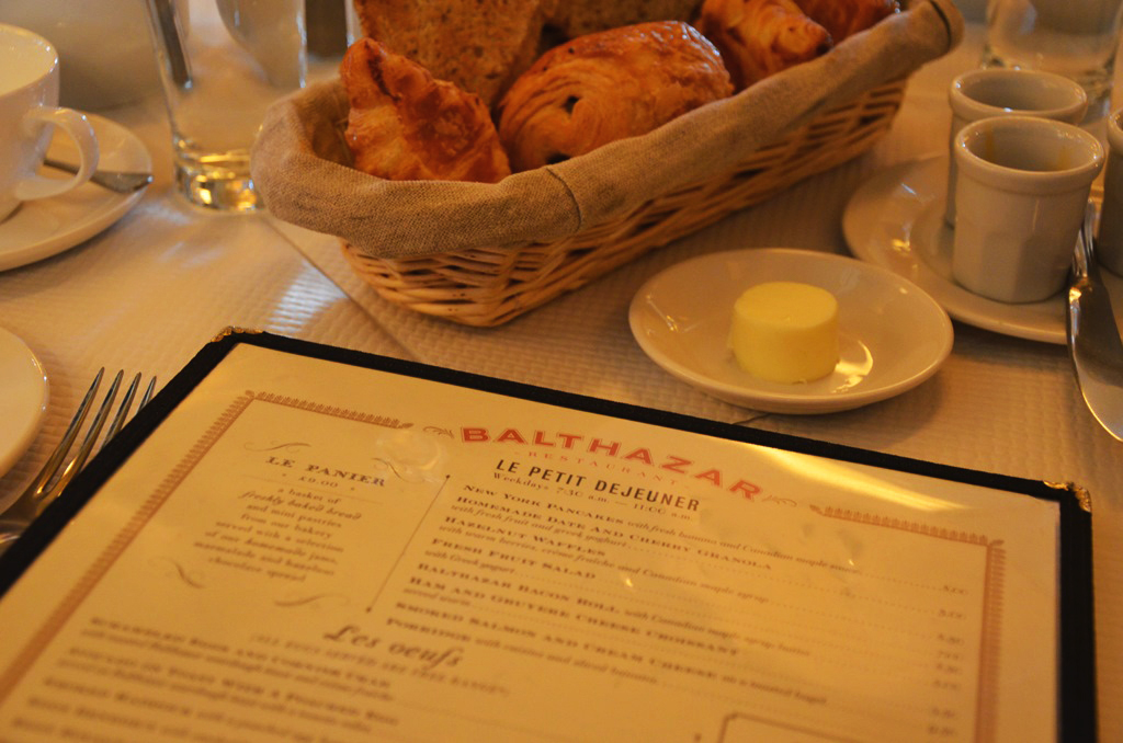 A tasty breakfast with Balthazar