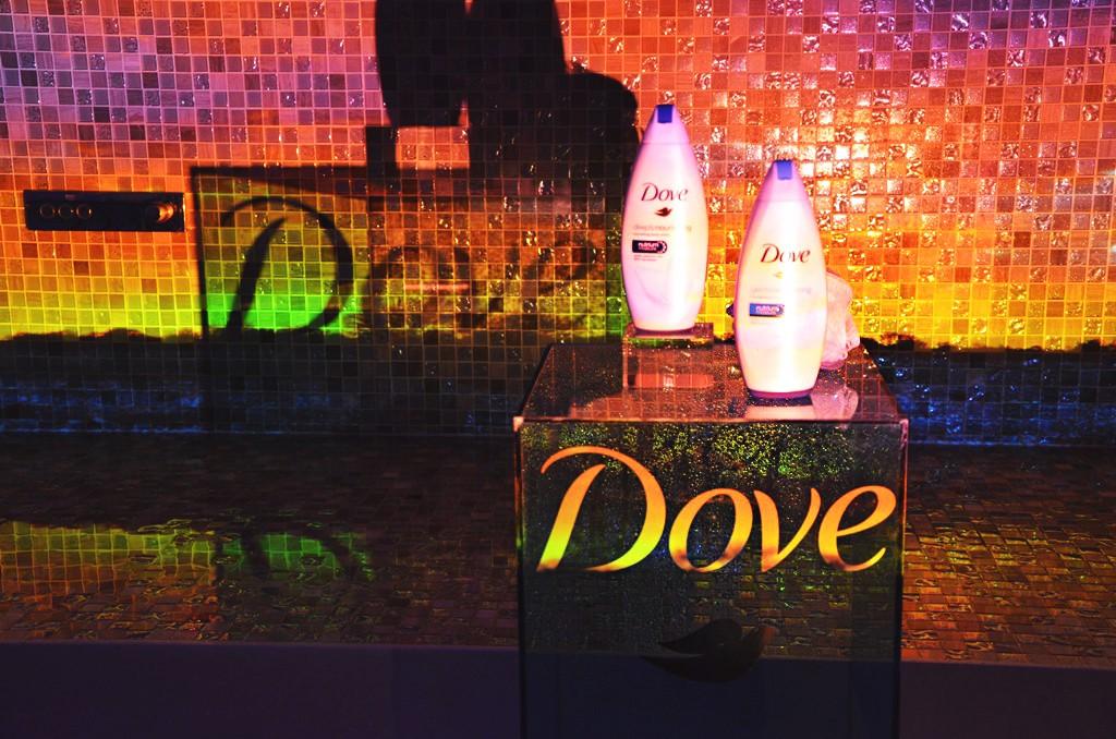 The launch of Dove's new Exfoliate body wash