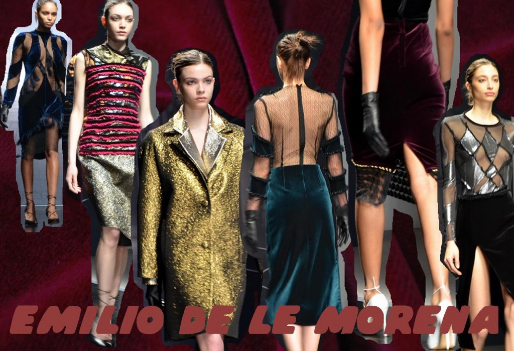 Emilio De Le Morena AW15 London Fashion Week