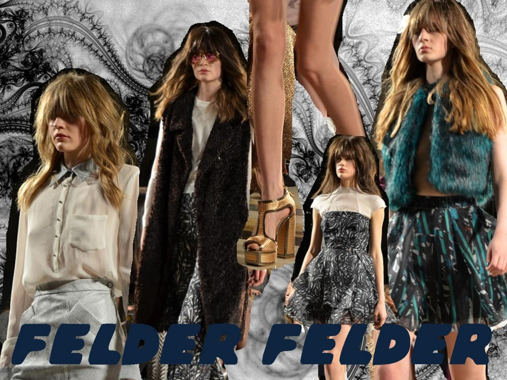 Felder Felder AW15 London Fashion Week