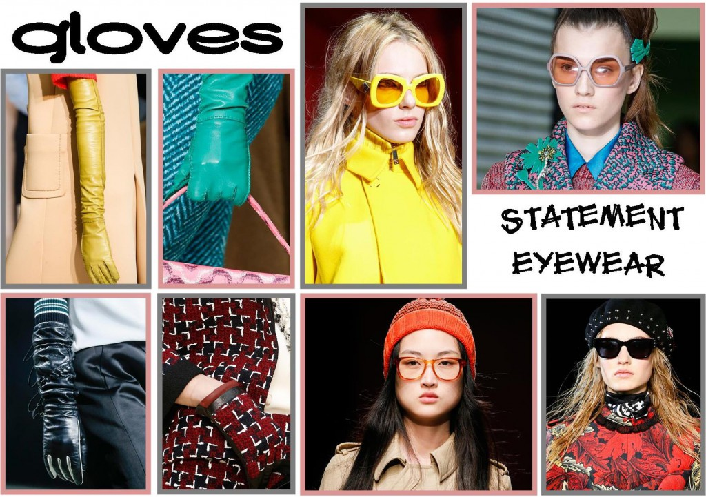 Details and accessory trends for AW15