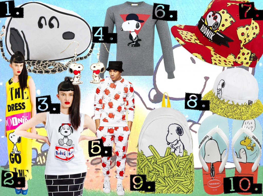 Snoopy fashionable hits SS15