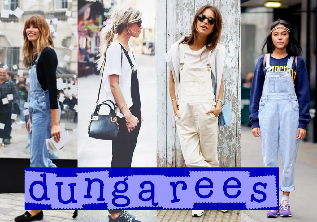 Street Style Dungarees