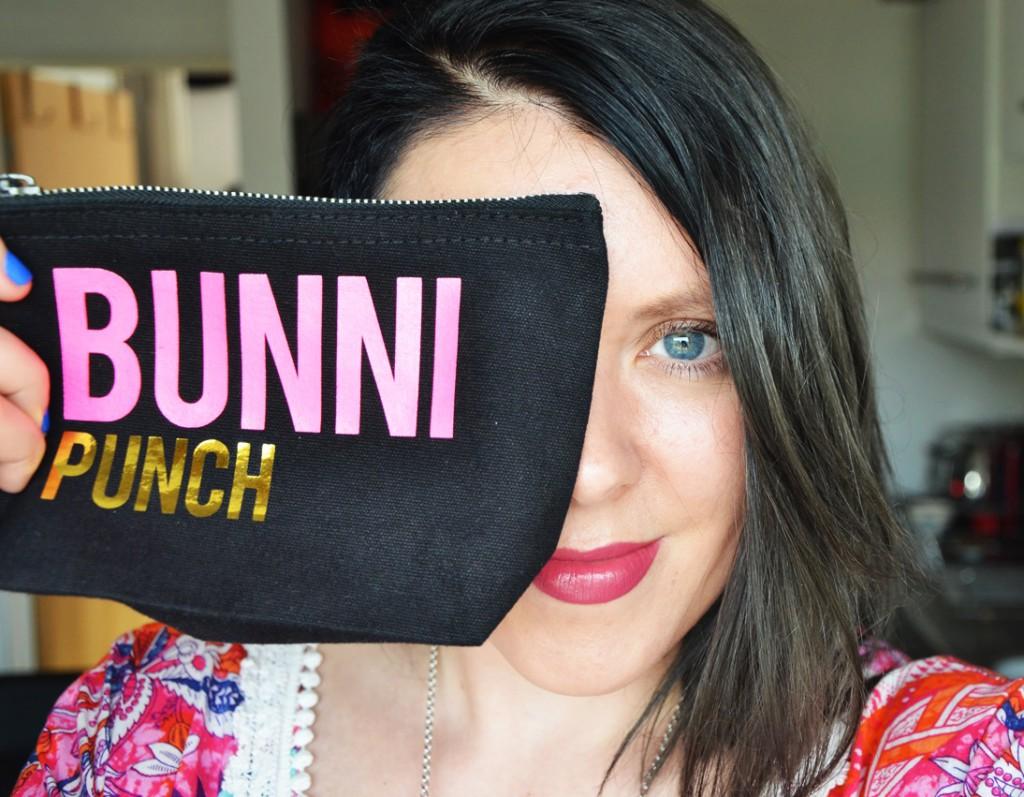 Bunnipunch Make up bag