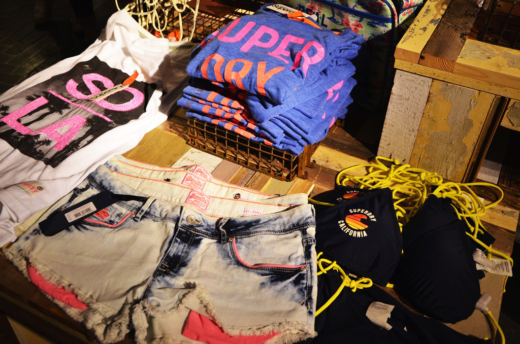 Fashion Sept visit to Superdry
