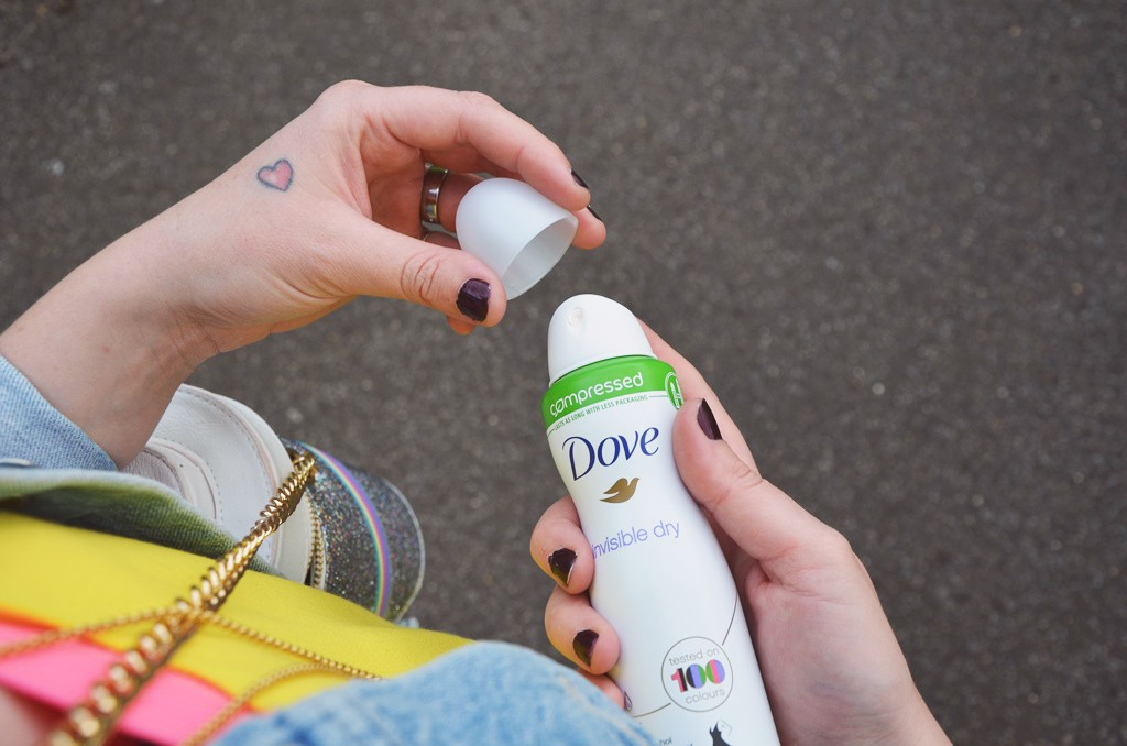Dove's Little coloured dress challenge