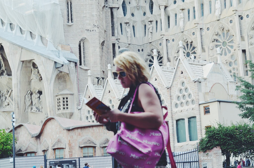 A visit to Barcelona with Marco Polo guidebooks