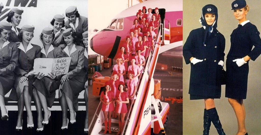 Vintage air hostesses uniform 2