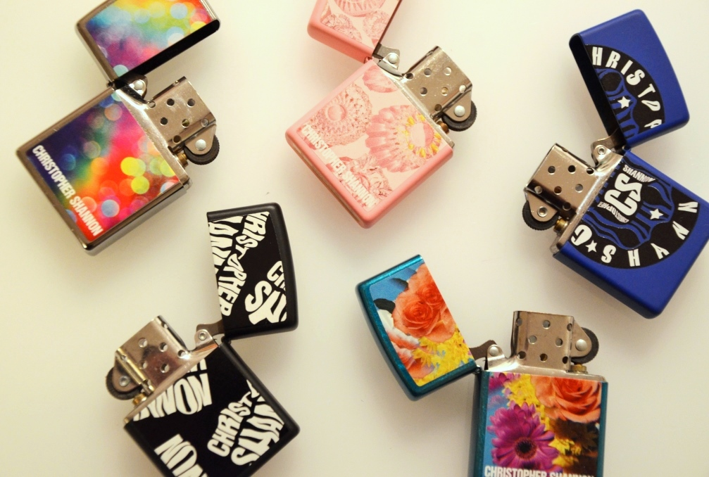 Christopher Shannon x Zippo collaboration