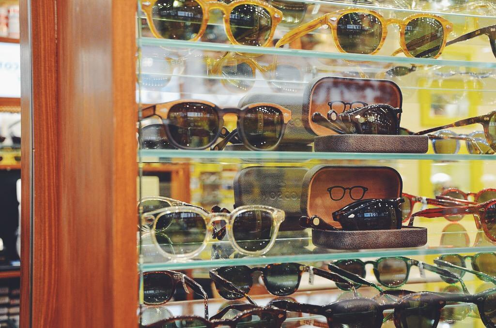 A visit to Moscot, Soho, London.