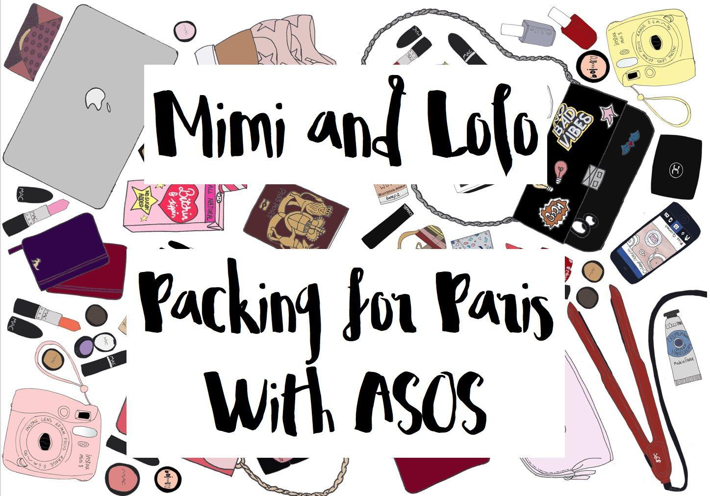 Packing for Paris with ASOS