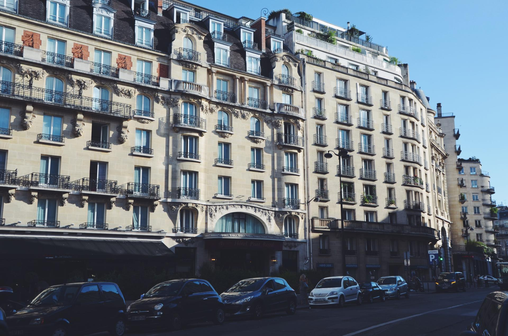 A stay with Hôtel Pont Royal in Paris, France