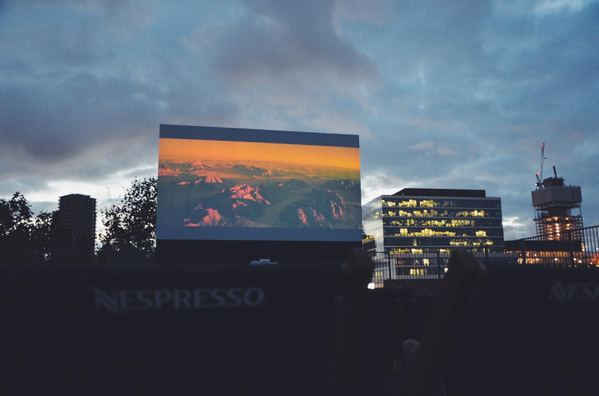 Film fun with Rooftop Film Club and Nespresso