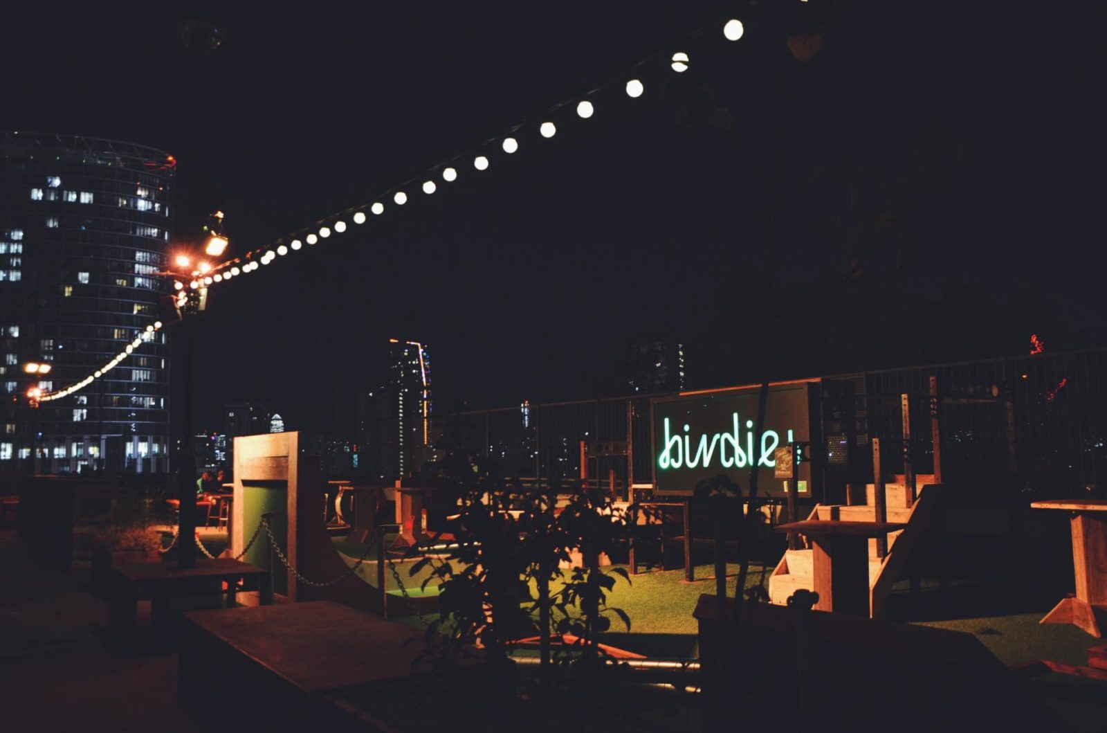 Rooftop film club London