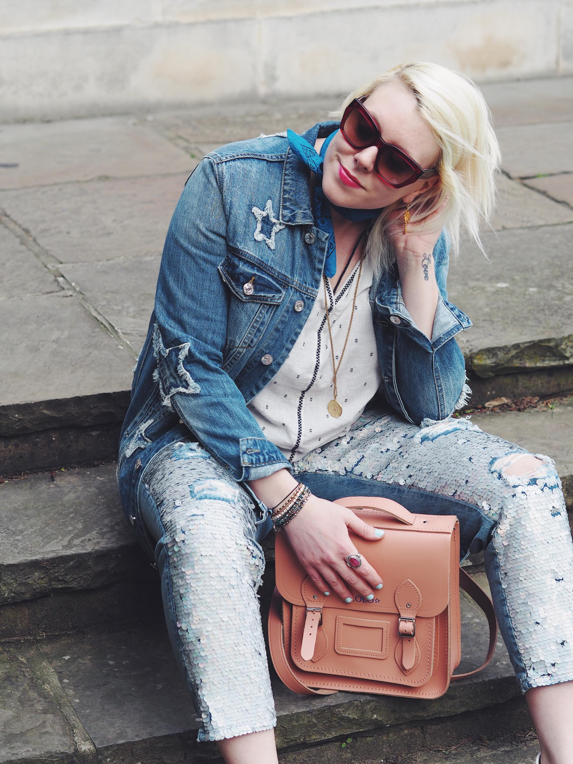 How to rock Double Denim
