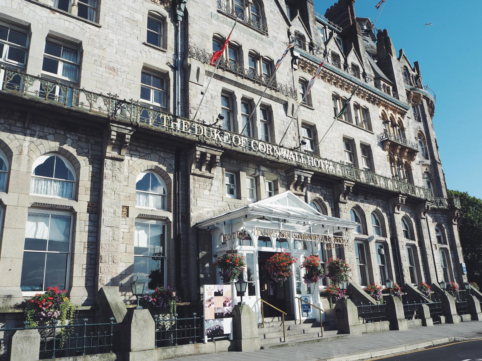 A stay with the Duke of Cornwall Hotel, Plymouth