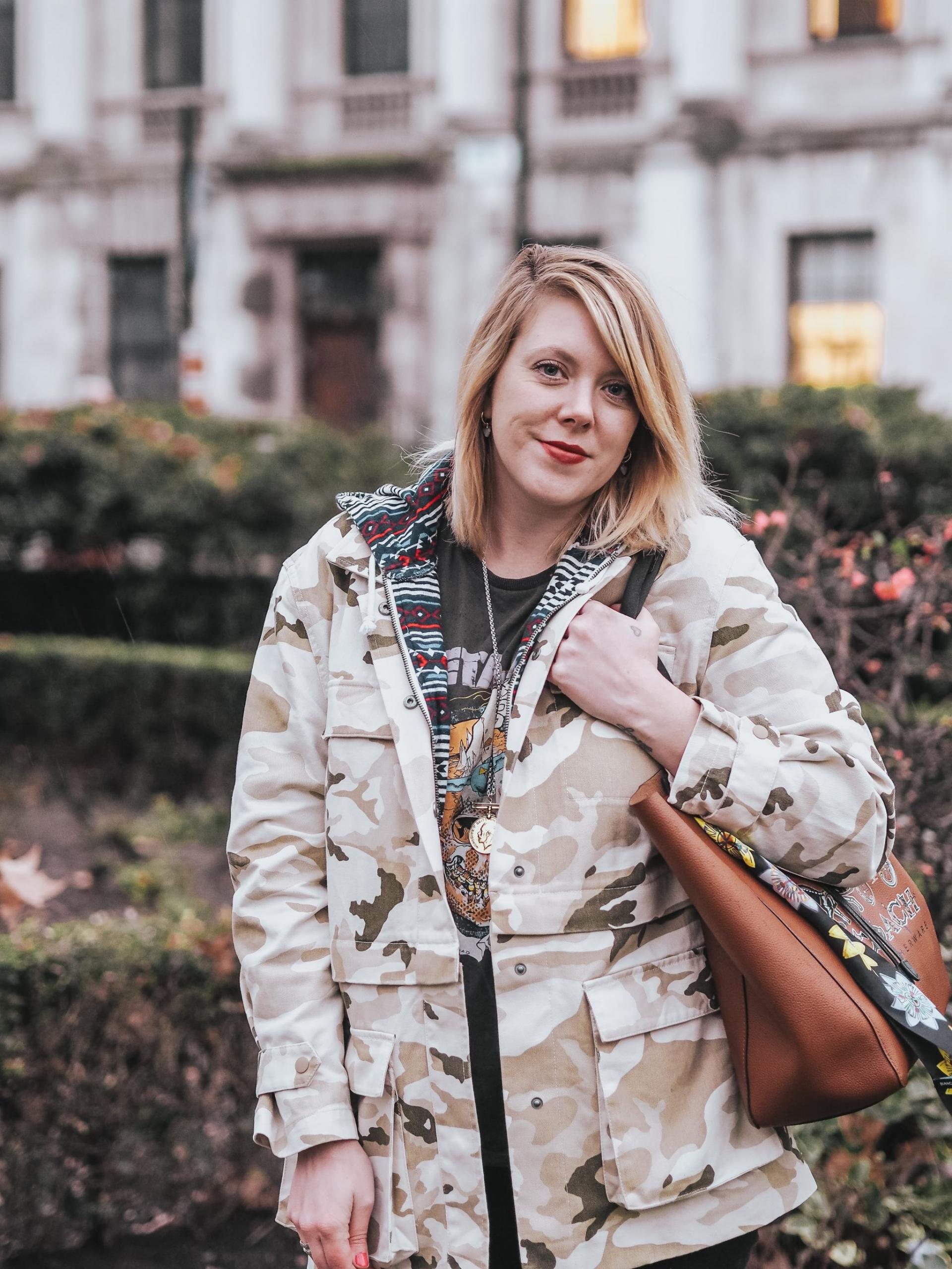 How to style a camo