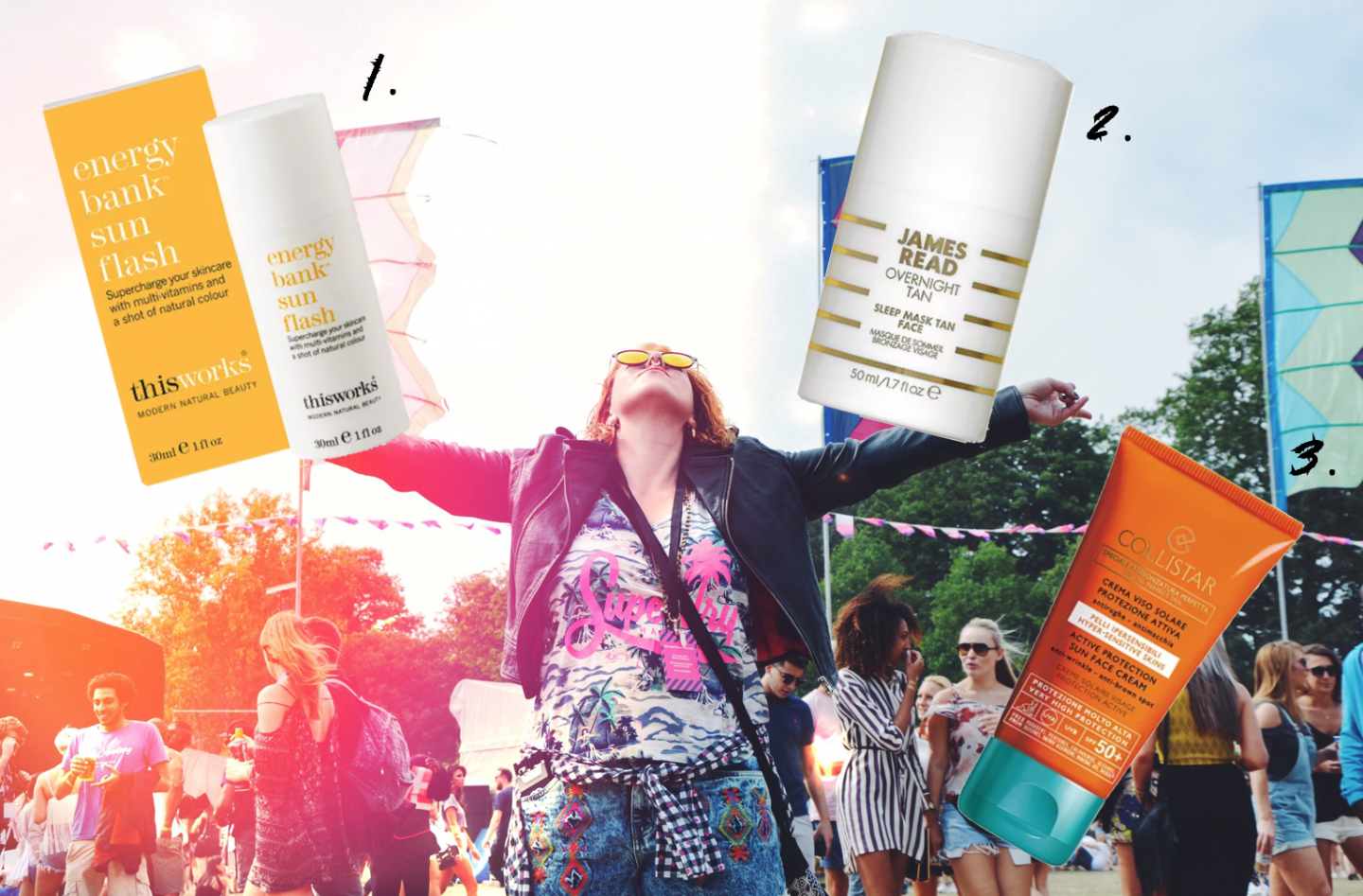 Key beauty treats for your festival plans from Cosmetify