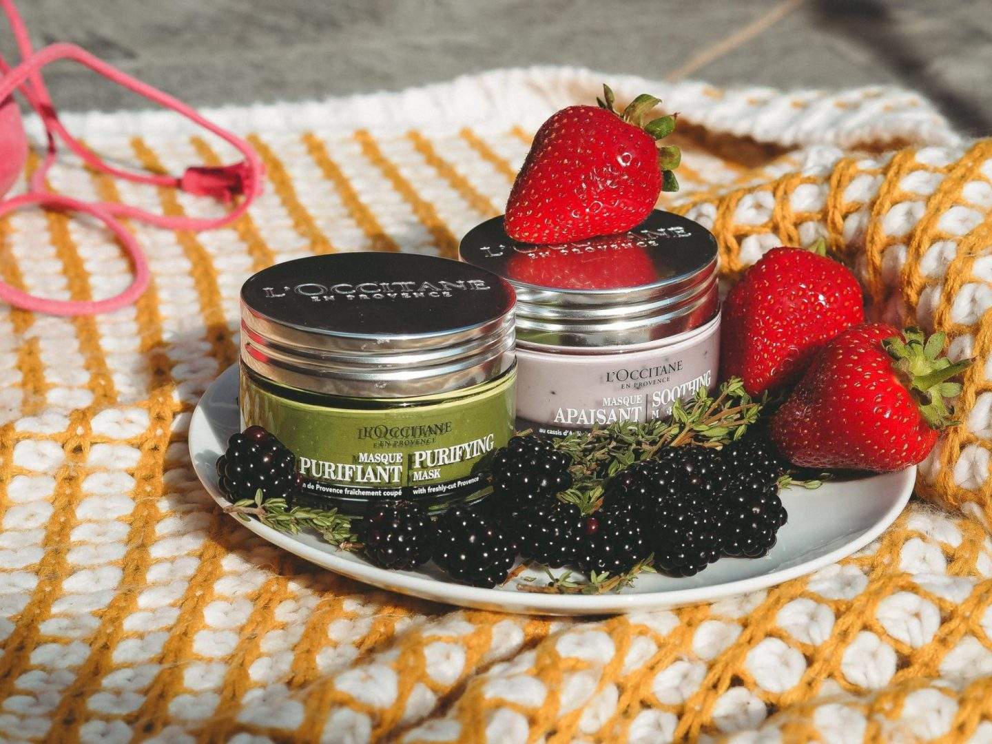 Enjoy a fruity beauty injection with L'Occitane